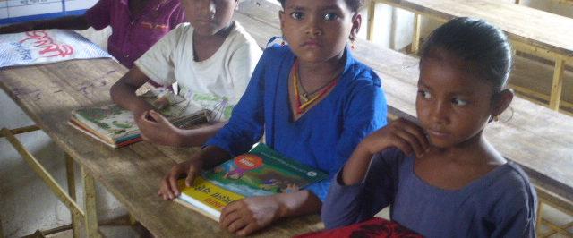enfants à l'école au Bangladesh